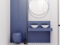 Modern-blue-bathroom