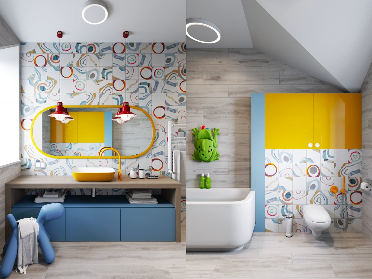Modern-kids-bathroom
