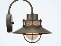 Outdoor-Nautical-Style-Wall-Light-With-Brushed-Bronzed-Finish