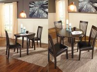 Round-Espresso-Dining-Table-With-Fold-Down-Side-Leaf-Space-Saving-Furniture-Ideas