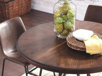 Rustic-Round-Dining-Table-For-Two-With-Wood-Table-Top-And-Metal-Legs