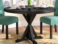 X-Base-Round-Black-Dining-Table-4-Chair-Dining-Room-Dark-Furniture-Modern