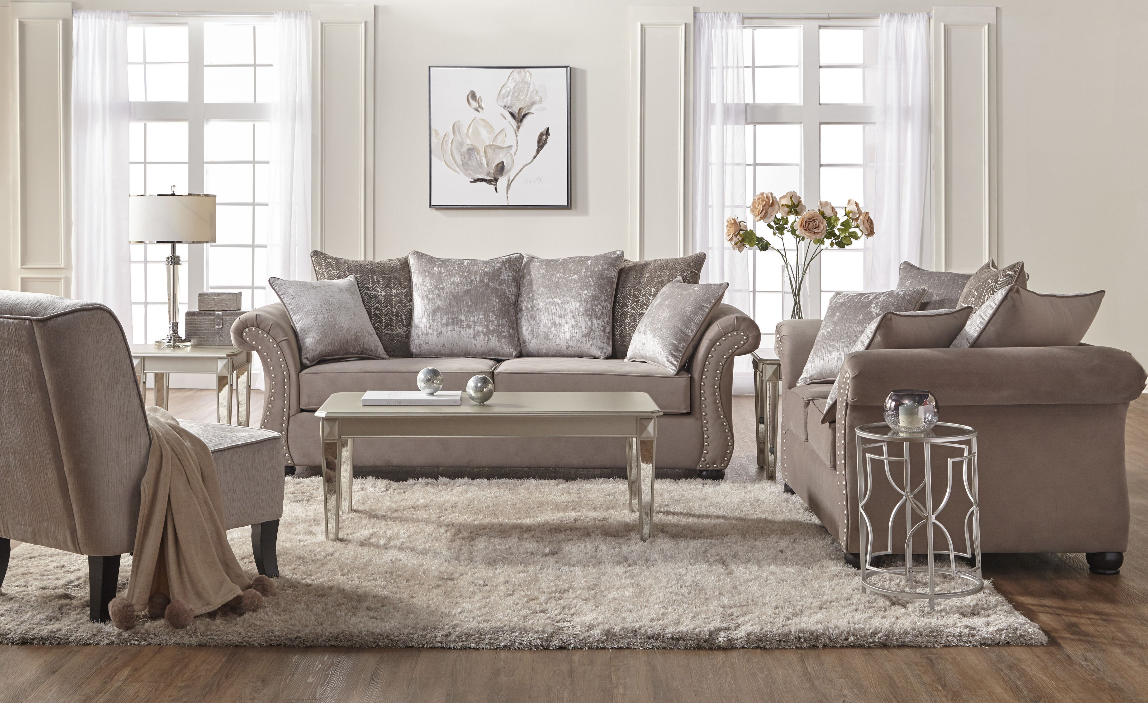 Agnes Configurable Living Room Set pertaining to Living Room Sets