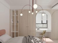arched-bedroom-cabinets-modern-interior-architecture-for-luxury-childrens-room