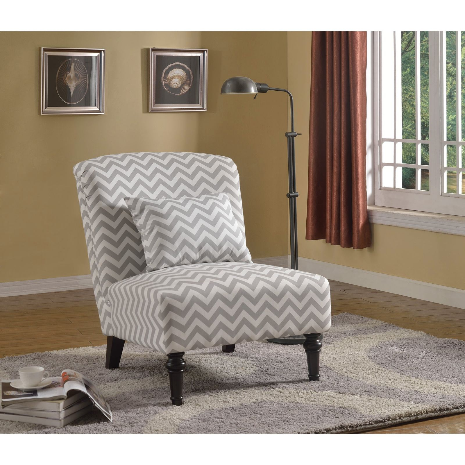Best Master Furniture Coastal Living Room Accent Chair for Best of Living Room Furniture Accent Chairs