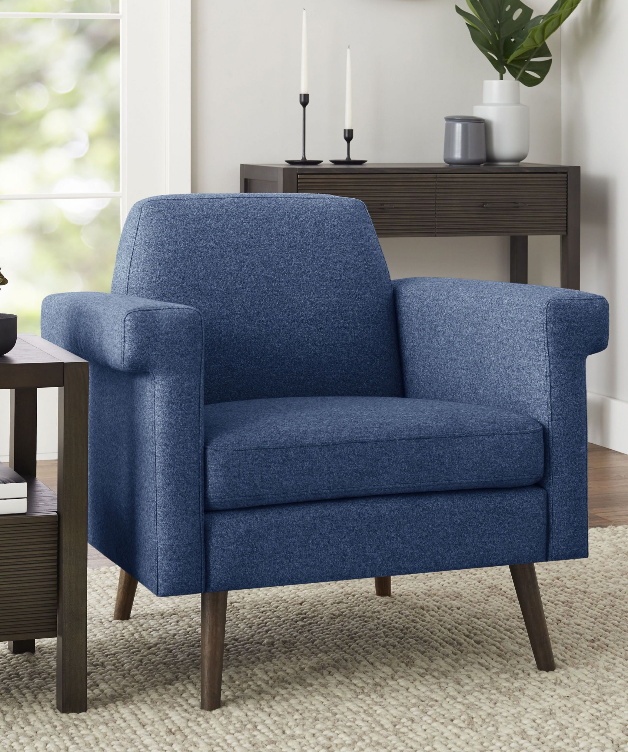 Better Homes & Gardens Remick Lounge Chair, Multiple Colors In 2019 intended for Lounge Chair Living Room Furniture