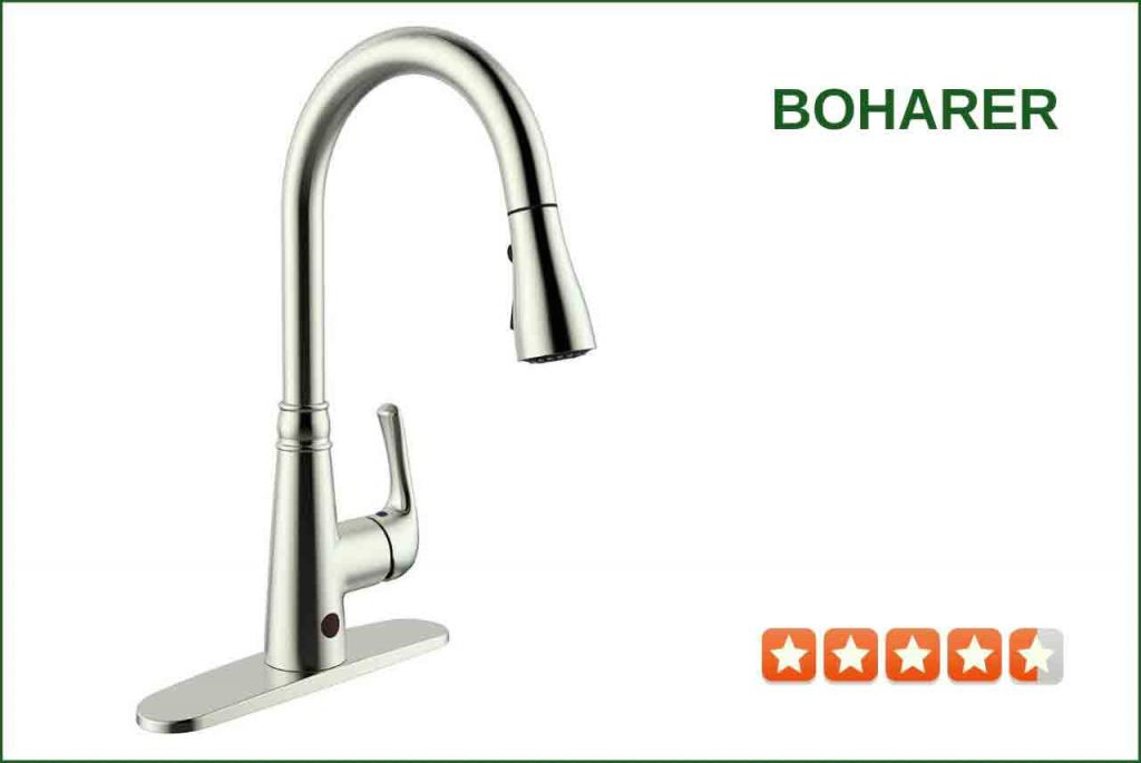 Boharer Bf Touchless Kitchen Faucet Review | Best Reviews For Kitchen with regard to Touchless Kitchen Faucet