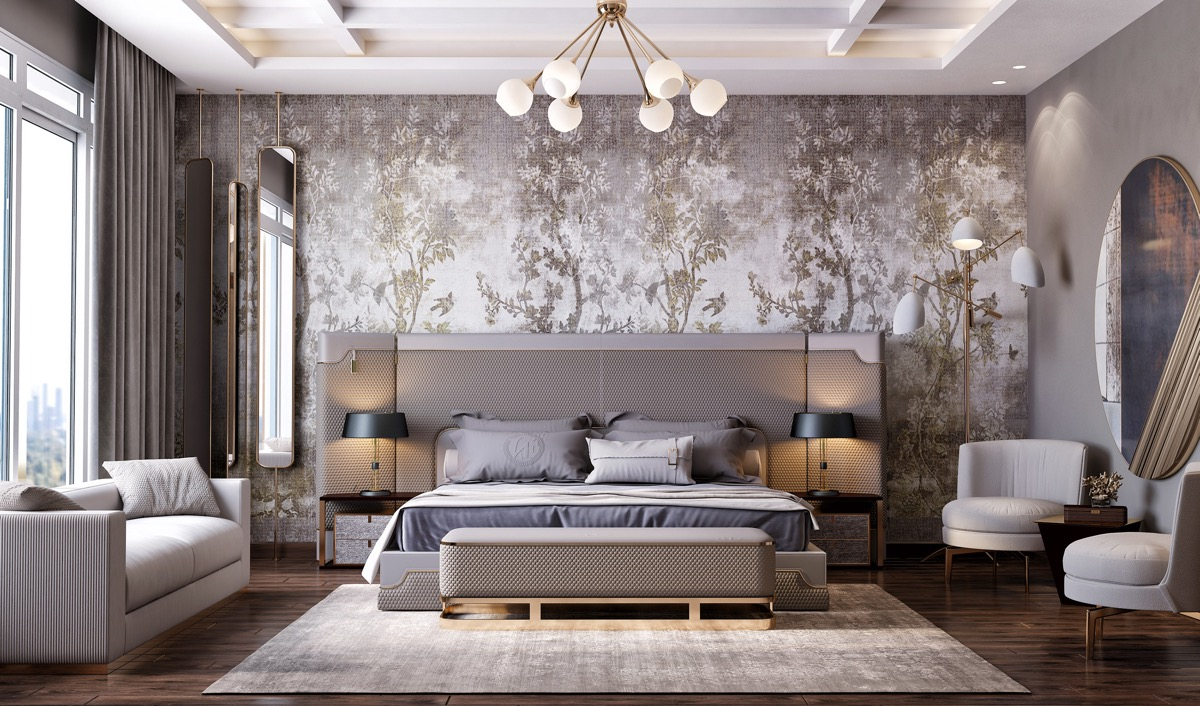 bold-wallpaper-ideas-for-transitional-bedrooms