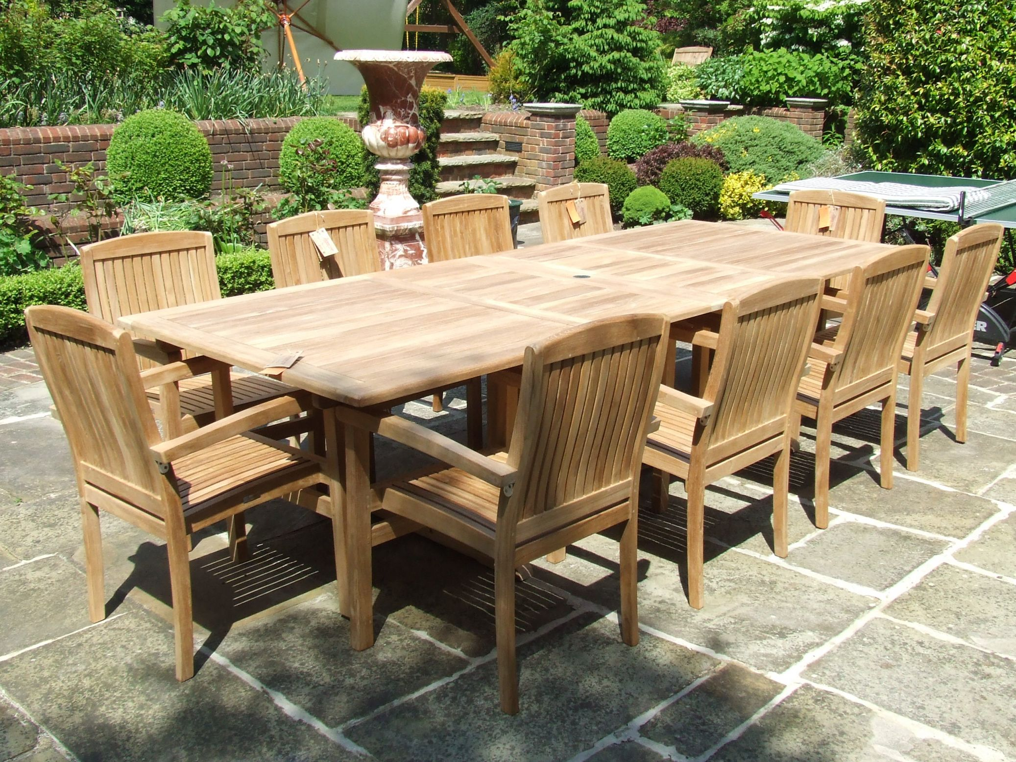 Caring For Outdoor Teak Furniture Wonderful Discount Teak Outdoor regarding Beautiful Teak Outdoor Furniture Set