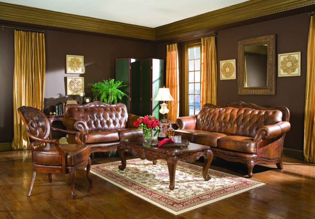 Coaster Victoria Leather Living Room Set regarding Awesome Leather Living Room Sets
