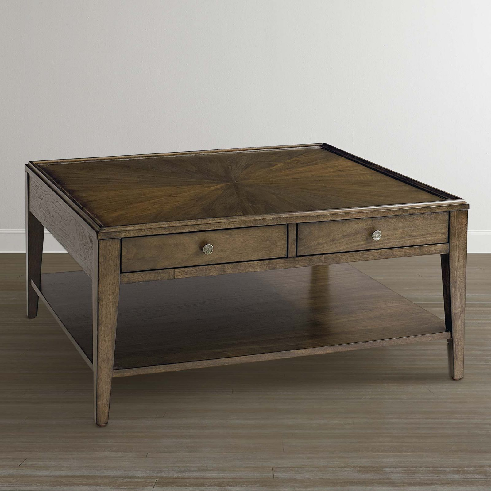 Coffee Tables | Cocktail Tables With Storage | Bassett Furniture with regard to Square Coffee Table With Storage
