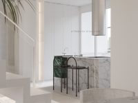 cove-lighting-in-green-and-white-marble-kitchen-design