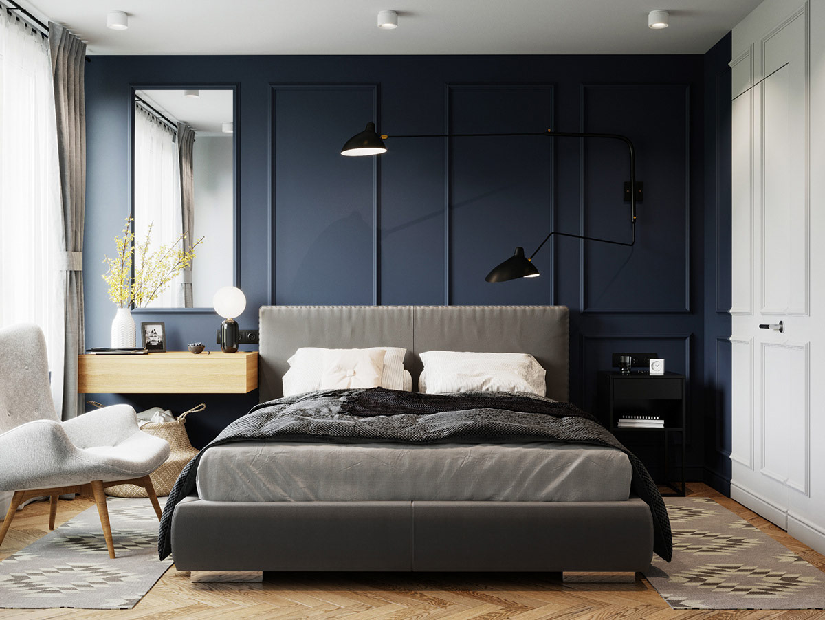 dark-sapphire-blue-jewel-tone-bedroom-design