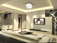 Decoration Modern Living Room Tv Background Wall Small Decor Art throughout Modern Living Room Tv Wall