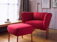 Details About Armrest Chair And Ottoman Lounge Chair Living Room Furniture within Lounge Chair Living Room Furniture