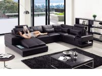 Divani Casa T285 – Modern Leather Sectional Sofa with regard to Best of Leather Sectional Modern