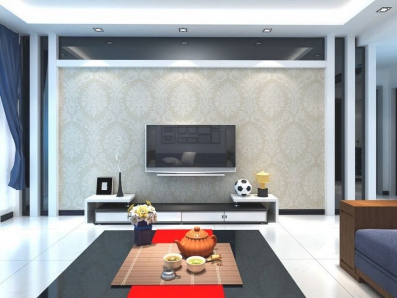 Elegant Tv Wall Decoration For Living Room – Homedcin within Lovely Modern Living Room Tv Wall