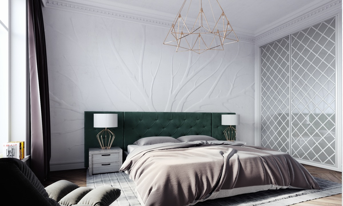 emerald-green-headboard-inspiration-for-transitional-style-bedrooms