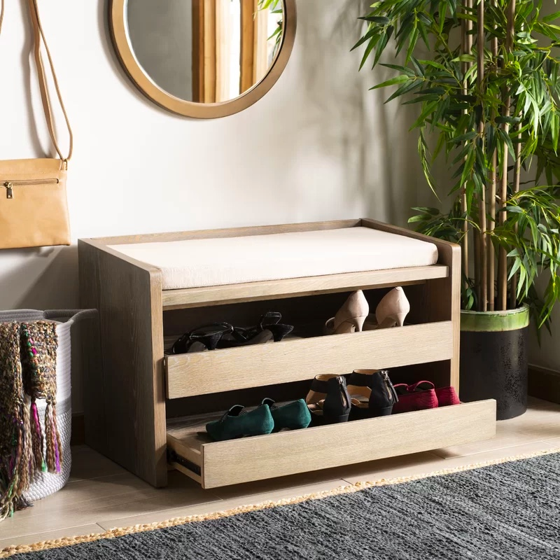 entryway-bench-with-shoe-storage-and-linen-cushion