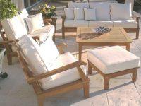 Exterior Design: Cool Design Smith Hawken Teak Outdoor Furniture For inside Teak Outdoor Furniture Set