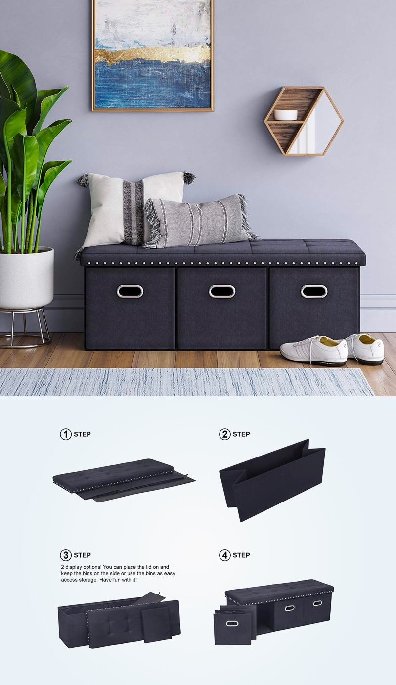 folding-storage-bench-with-four-collapsible-baskets-multipurpose-space-saving-design