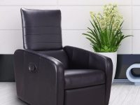 Giantex Manual Recliner Sofa Chair Contemporary Foldable Back intended for Modern Living Room Chairs