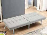 Giantex Modern Living Room Furniture Split Back Futon Sofa Bed for Modern Living Room Chairs