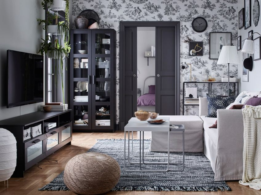Go To The Moviesat Home – Ikea with regard to Lovely Living Room Storage Cabinet With Doors