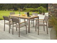 Hampton Bay Barnsdale Teak 7-Piece Patio Dining Set for Teak Outdoor Furniture Set