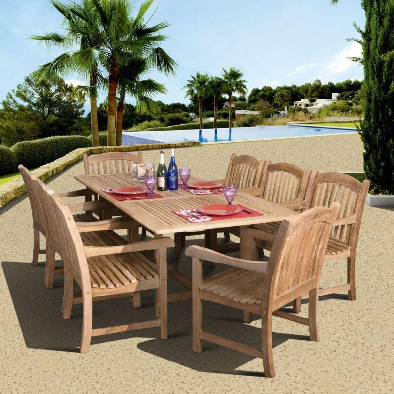 Peachy Beautiful Teak Outdoor Furniture Set Awesome Decors Home Interior And Landscaping Ologienasavecom