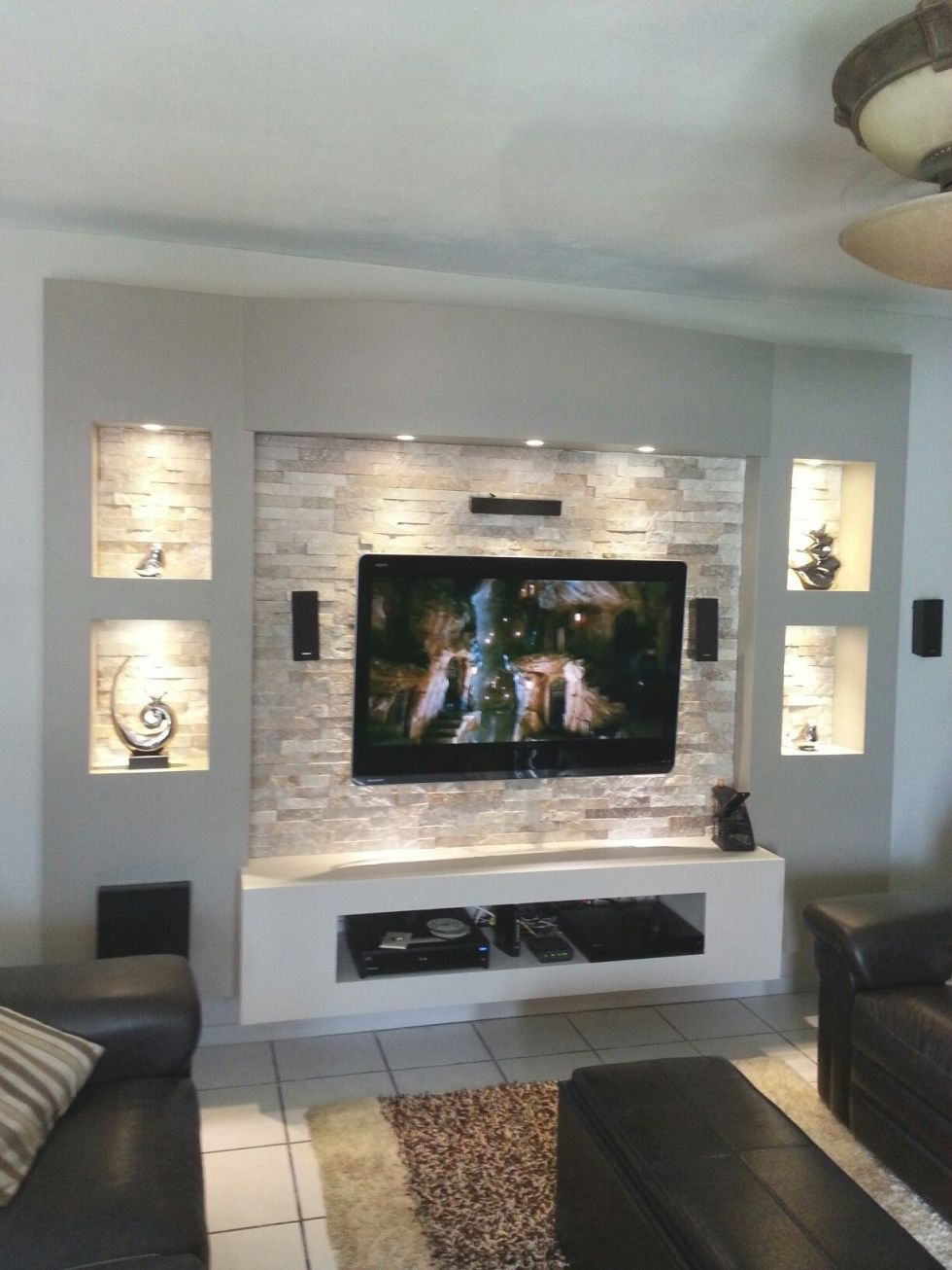 Modern Living Room Tv Wall