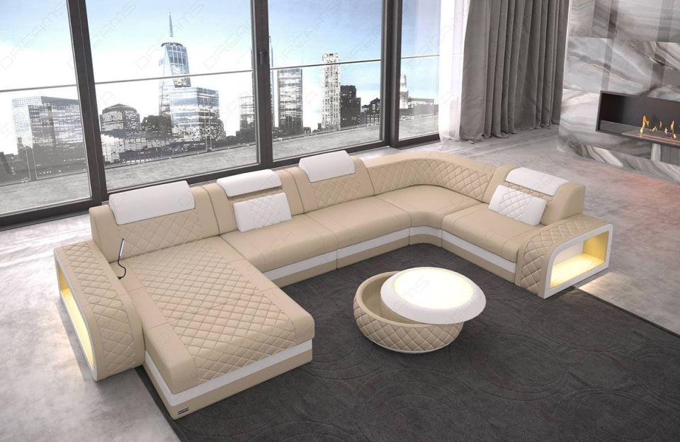 Leather Sectional Sofa Charlotte U Shape within Best of Leather Sectional Sofa
