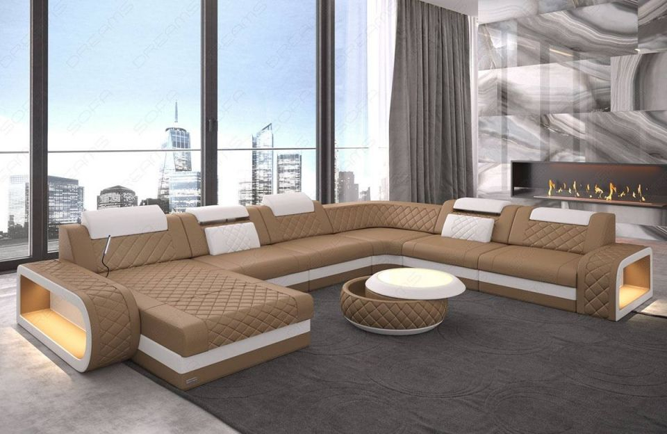 Leather Sectional Sofa Charlotte Xl with Leather Sectional Sofa