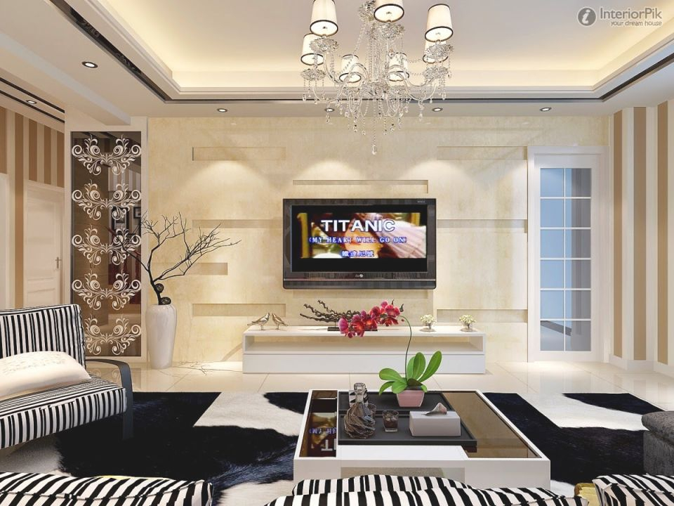 Living Room Design Catalog New Modern Living Room Tv Background With Regard To Modern Living Room Tv Wall Awesome Decors