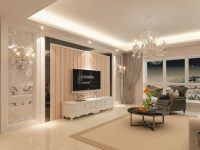 Living Room Tv Cabinets Cream Interior Ideas With Wall Tv Design Tv with regard to Modern Living Room Tv Wall