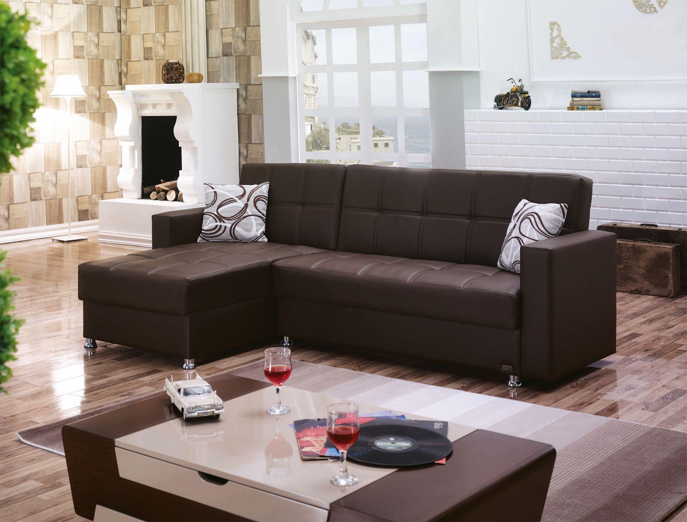 M Dark Brown Leather Sectional Sofaempire Furniture Usa intended for Leather Sectional Sofa