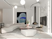 marble-accent-wall-with-pink-marble-living-room-table