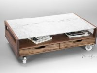 Marble Coffee Table, Center Table , Living Room Table Made Of Solid regarding Luxury Living Room Table