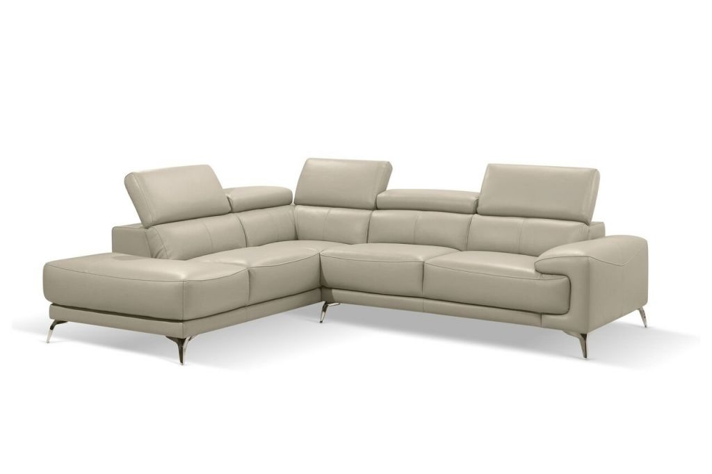 Mcclary Modern Leather Sectional intended for Best of Leather Sectional Modern