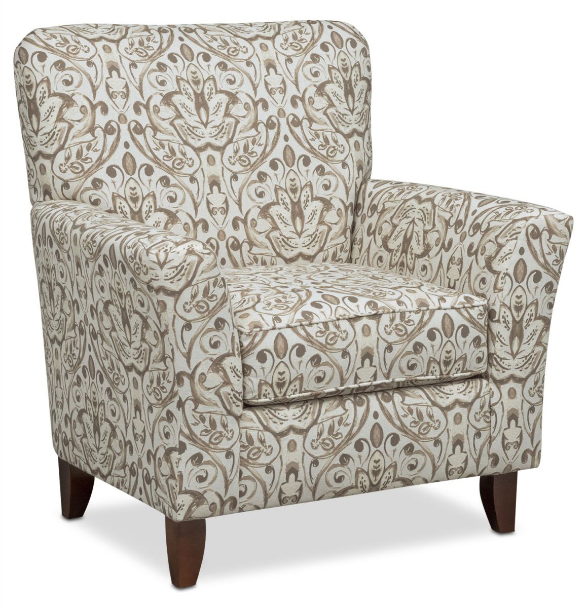Mckenna Accent Chair intended for Living Room Furniture Accent Chairs
