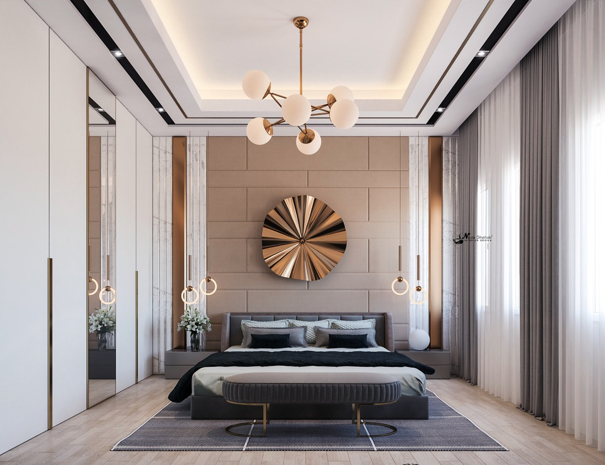 metallic-accessory-tips-for-transitional-bedrooms