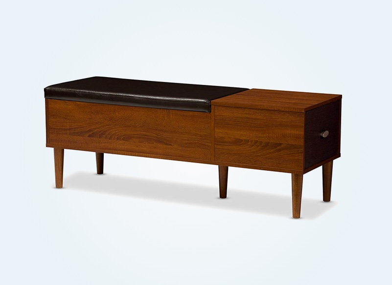mid-century-modern-bench-storage-with-faux-leather-cushion-and-side-drawer