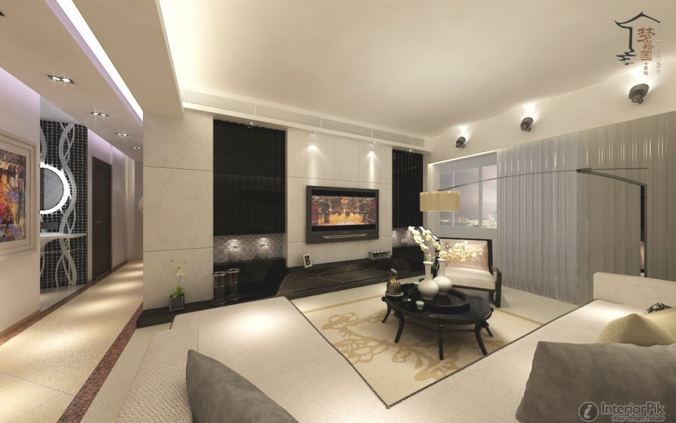 Modern Tv Rooms Design Bathroom Designs Home Ideas Big Mansion With Modern Living Room Tv Wall Awesome Decors