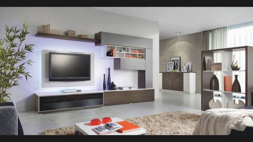 Modern Tv Wall Unit Design Tour 2018 Diy Small Living Room