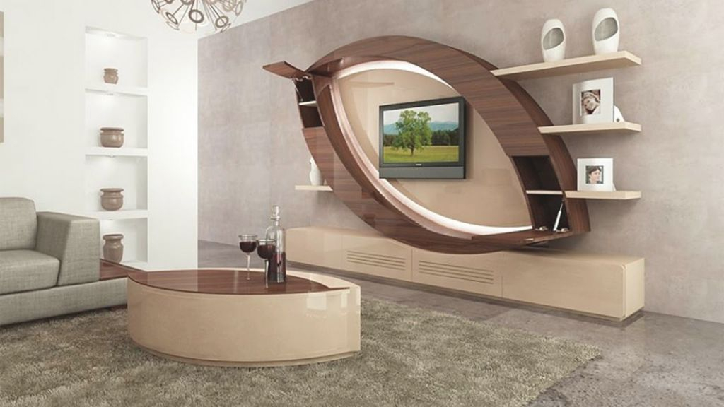 Modern Tv Wall Units: Living Room Tv Cabinet Design Catalogue 2019 throughout Modern Living Room Tv Wall
