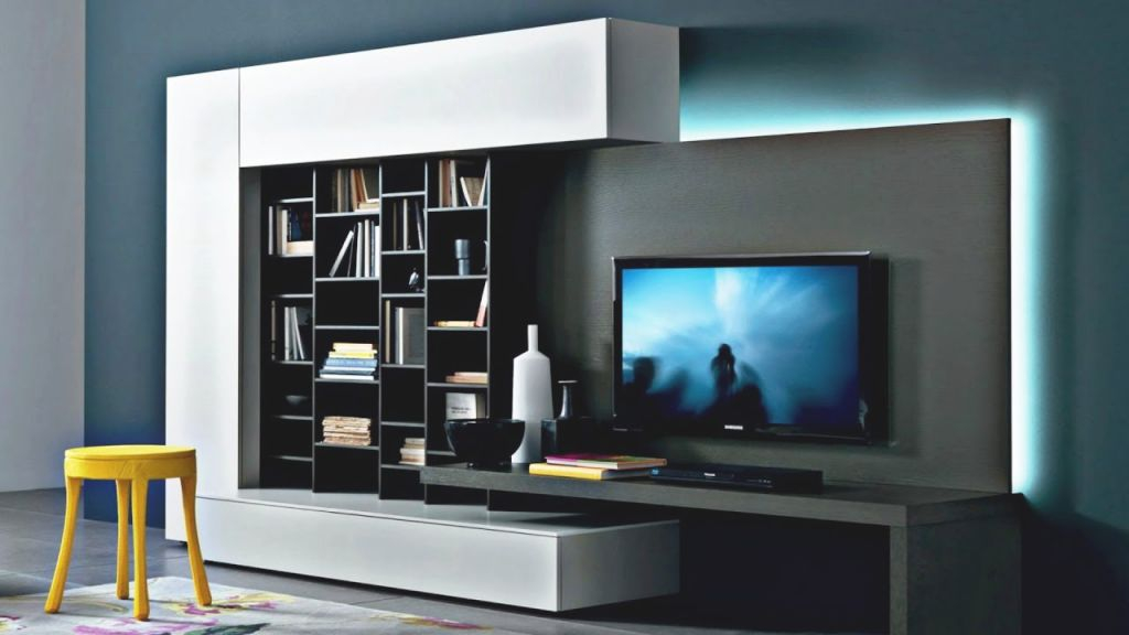 Modern Tv Wall Units – Wall Decoration With Tv   Modern Living Room in Lovely Modern Living Room Tv Wall