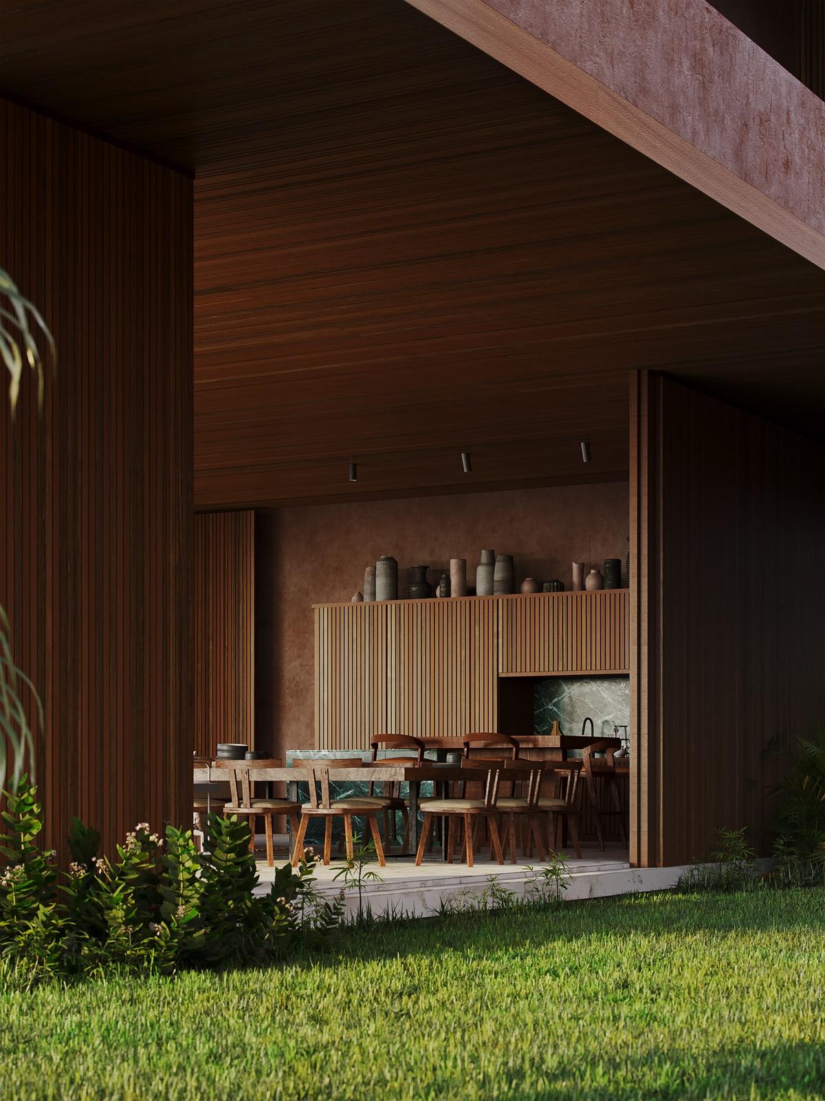 modern-wood-dining-set