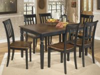 Owingsville Rectangular Dining Room Table & 6 Side Chairs regarding Elegant Dining Room Chairs