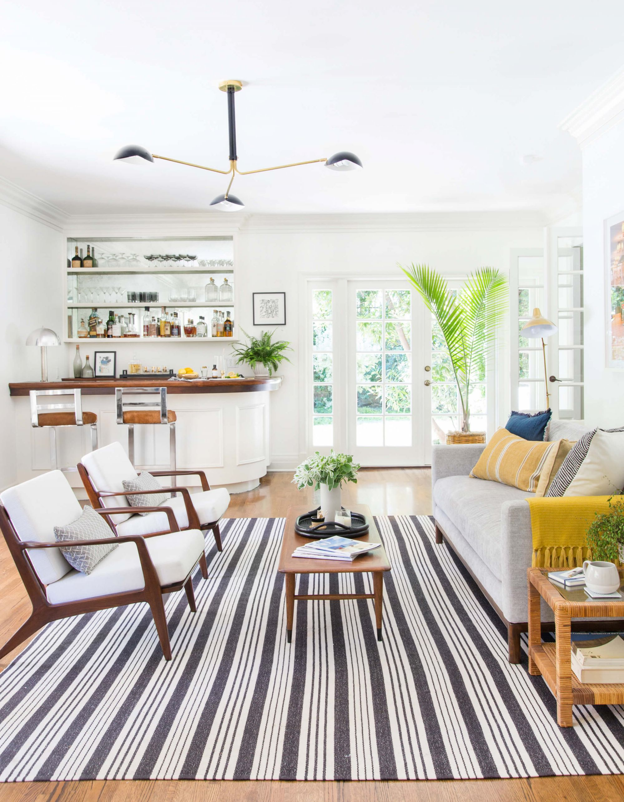 Power Couples: Sofas & Accent Chairs + A Few Rules – Emily Henderson intended for Living Room Furniture Accent Chairs