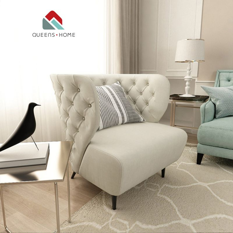 Queenshome Sofa Poltrona Para Sexo Poltronas Design Armchair French for Modern Living Room Chairs